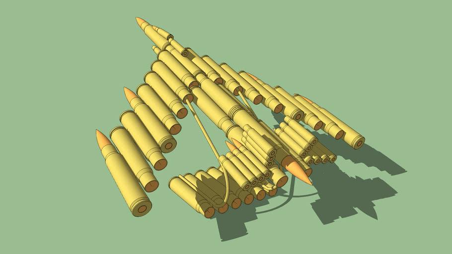 子弹飞机模型