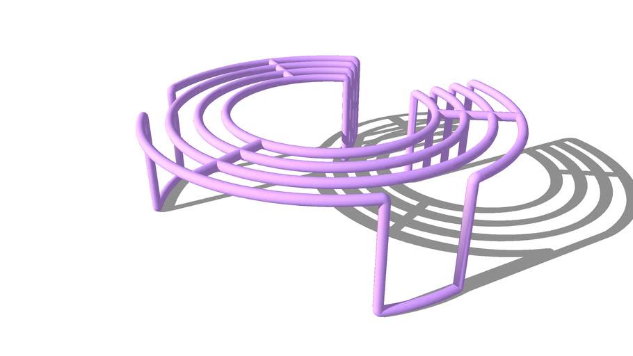圆管 座椅