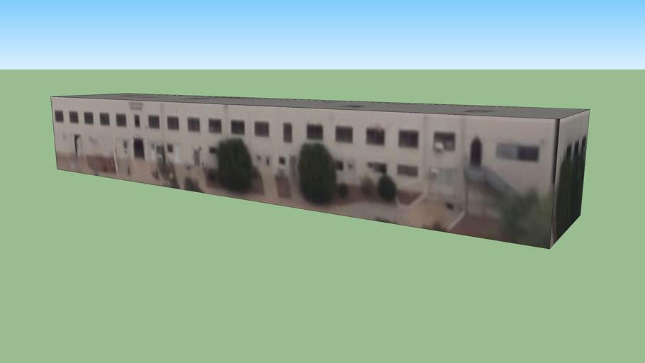 图森, 亚利桑那州, 美国的建筑模型