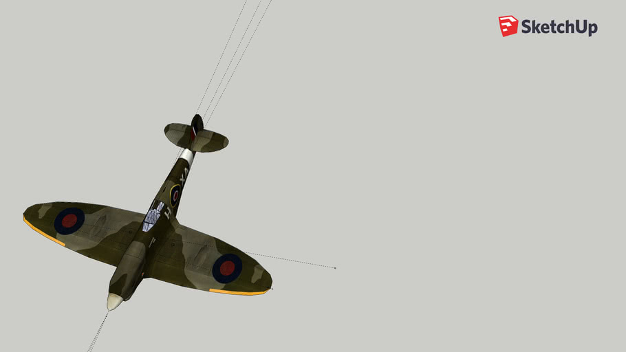 Elliptical Wing Plane