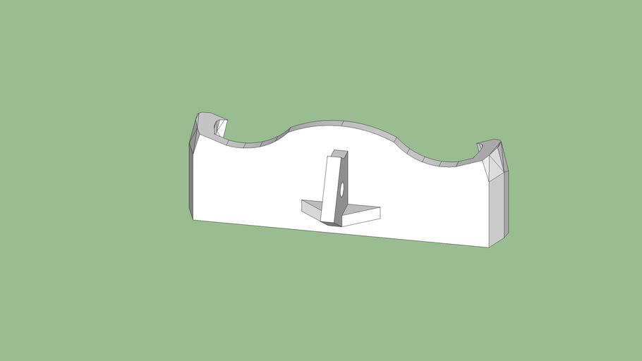 """Solar PleXtion"" - bracket for mounting an ASUS Xtion Pro to RethinkRobotics' Baxter's chest"