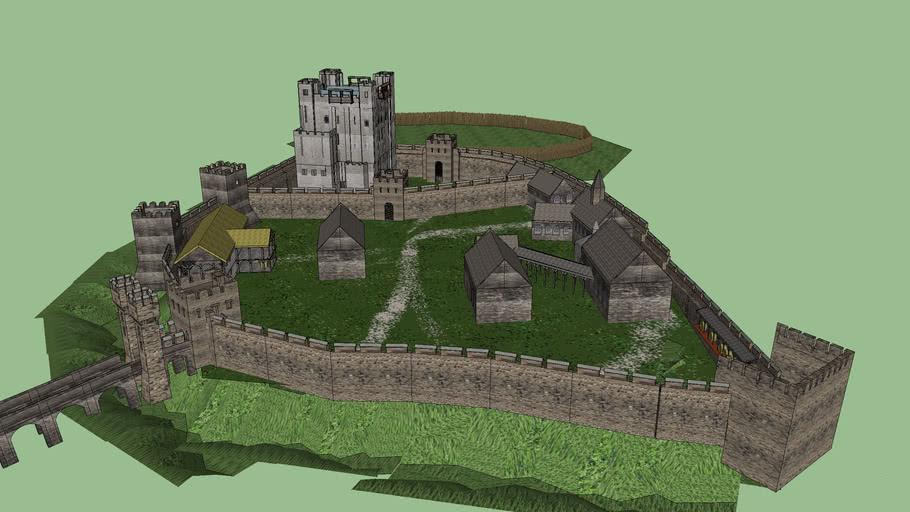 Rochester Castle c.1300