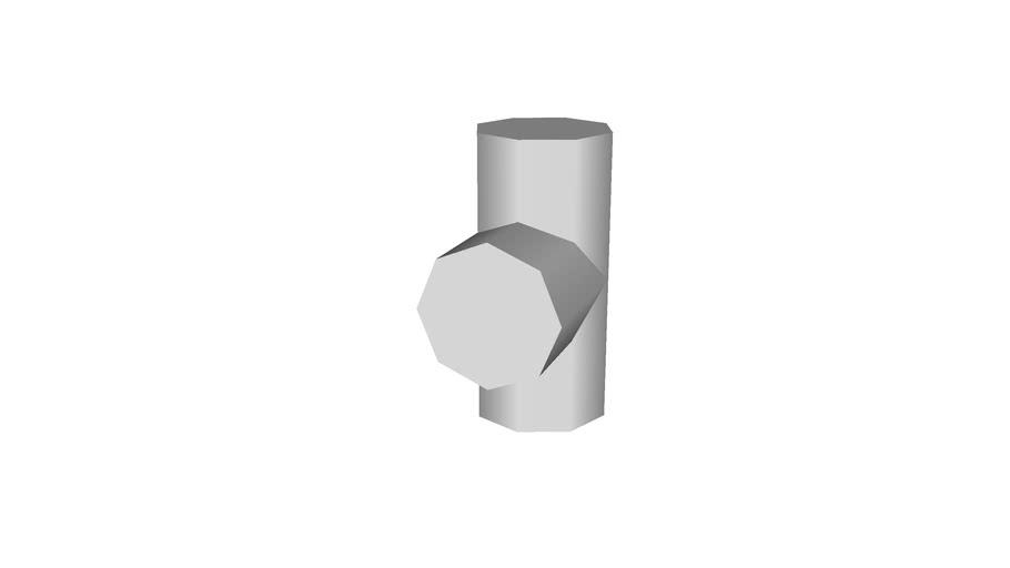 tee, 2�, low polygon