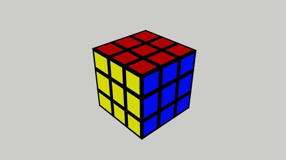 Unturnable Rubik's cube