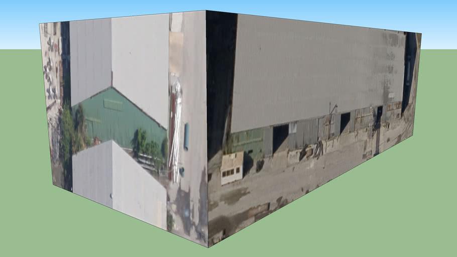 Bangunan di Jacksonville, Florida, Amerika Serikat
