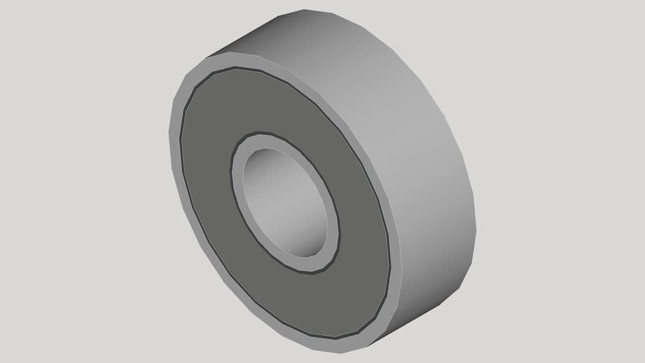 Rolamento de aço (8x22x7mm)