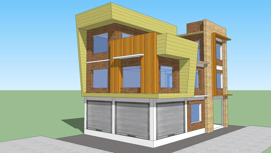 Residence Concept for Mr. Tul Singh Gurung