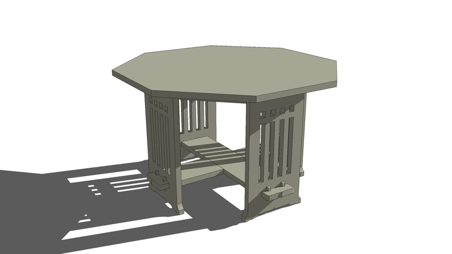 Charles Limbert Octagonal Table