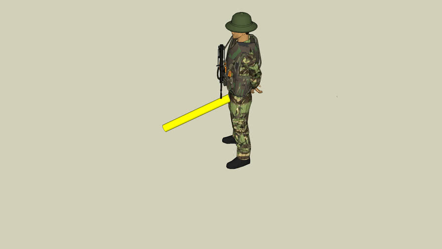 One Hard Soldier