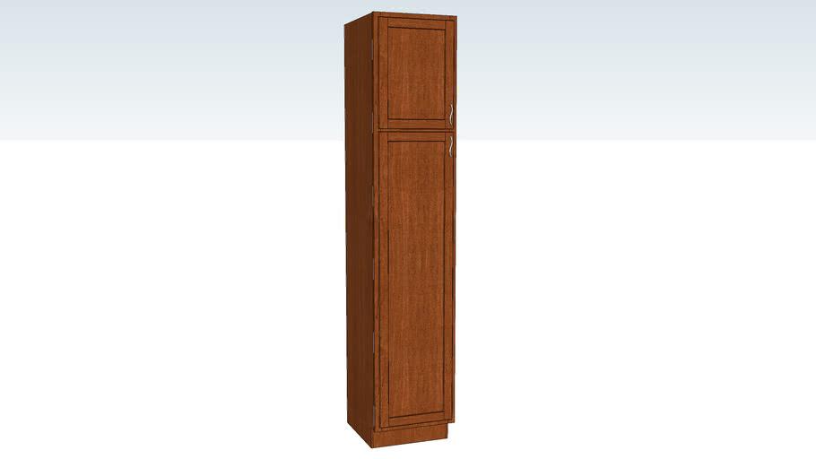 Utility Cabinet Single Door 21D