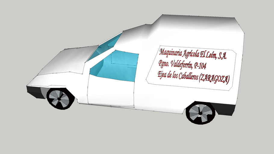 Ford Courier de Maquinaria Agrícola El León, S.A. de Ejea de los Caballeros (ZARAGOZA)