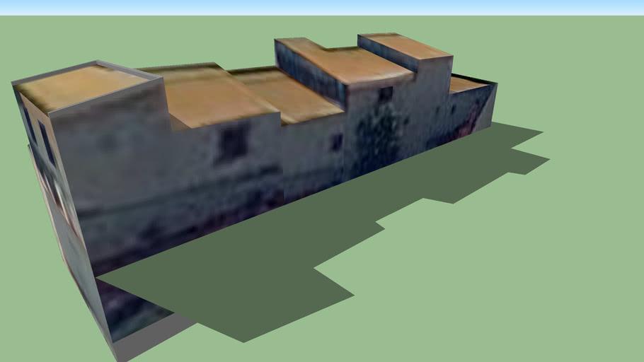 Modelo 3D dos Anexos da Capela da Senhora do Monte