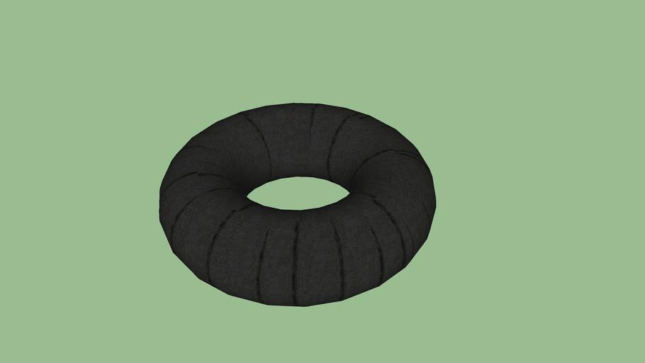 Black Tire innertube