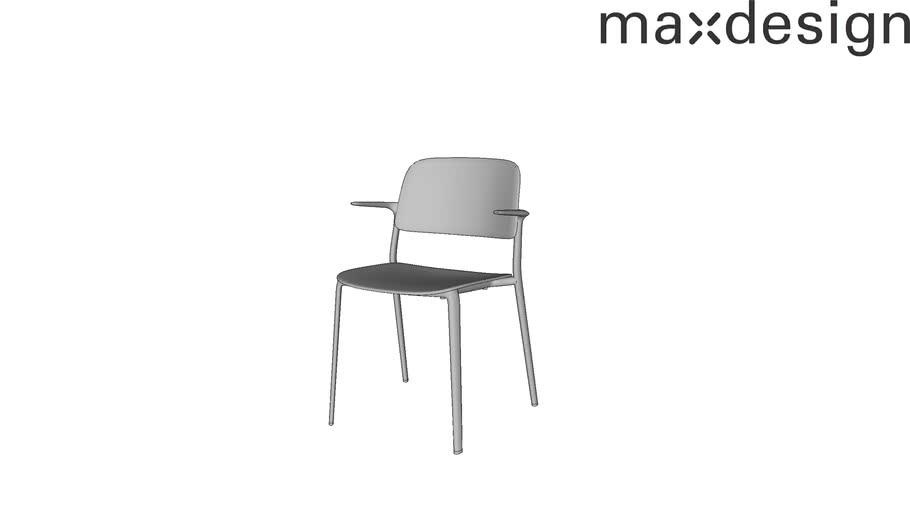Appia Com Braços - Max Design