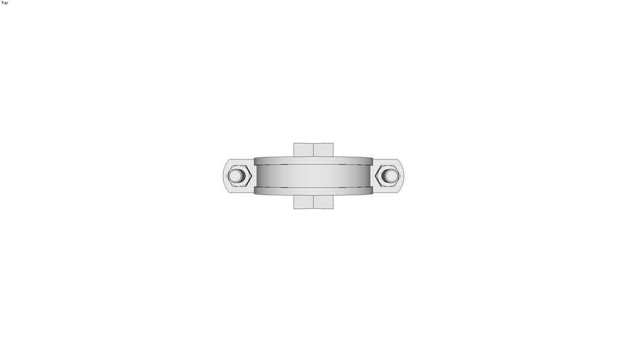 HALFEN Pipe clamp assembly set HCS-RADV