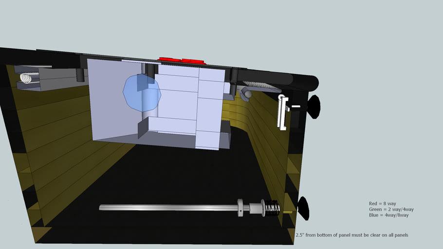 Modular Arcade Control Panel WIP