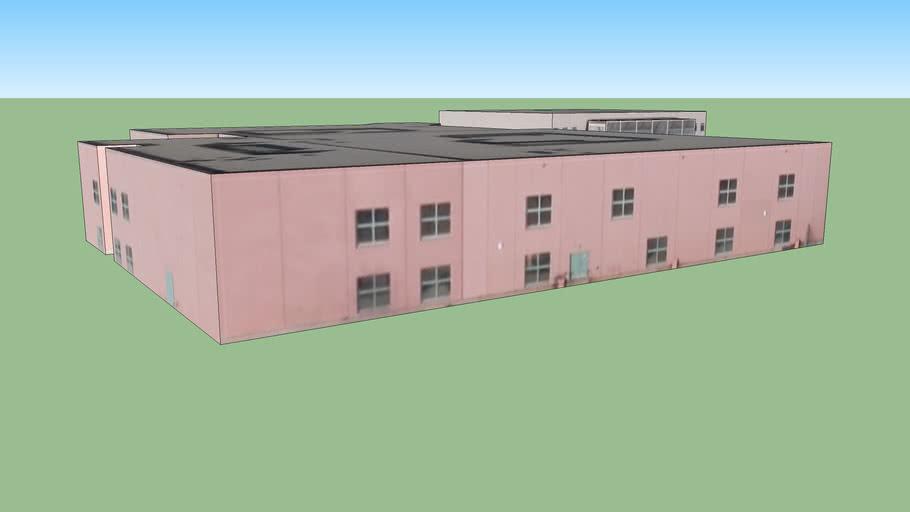 School building in Bernalillo, NM, USA