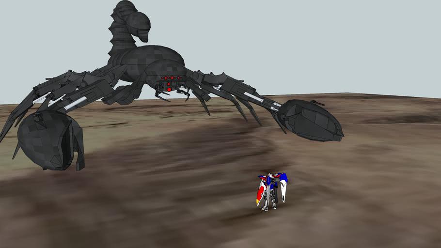 scorpio vs. celestial being