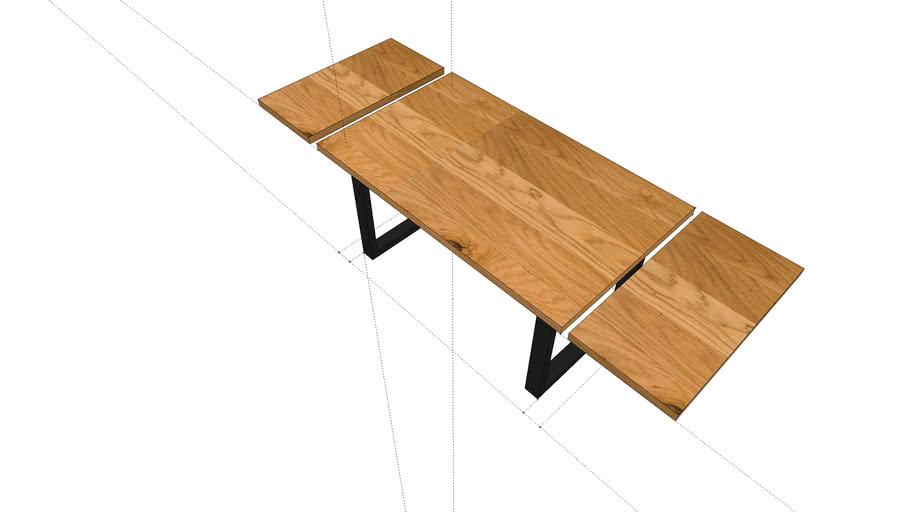 Stół Jadalnia z rozszerzeniem 888