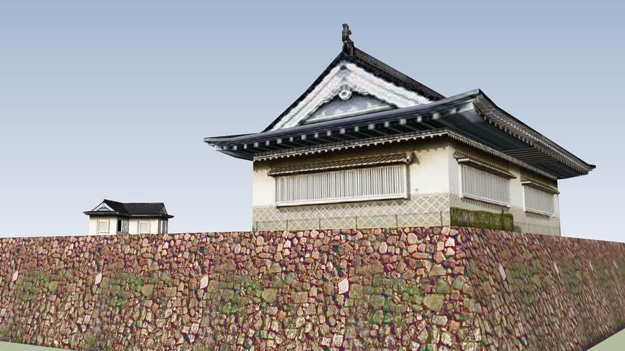 岸和田城 二の丸