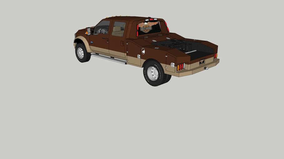 F450 King Ranch Superduty 4X4 w/ Hauler Bed