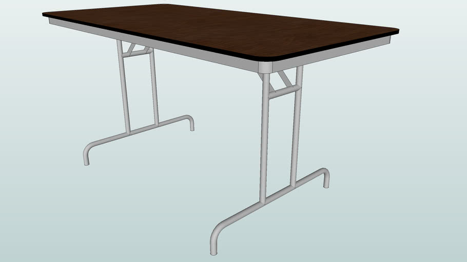 5' Fold out portable table