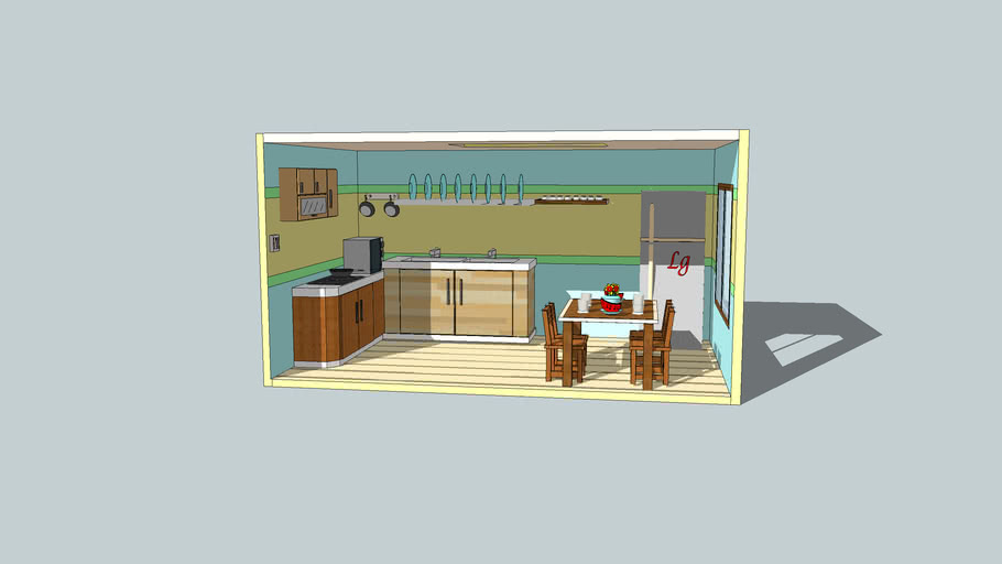 kitche by student