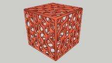 Voronoi patterned Platonic Solids