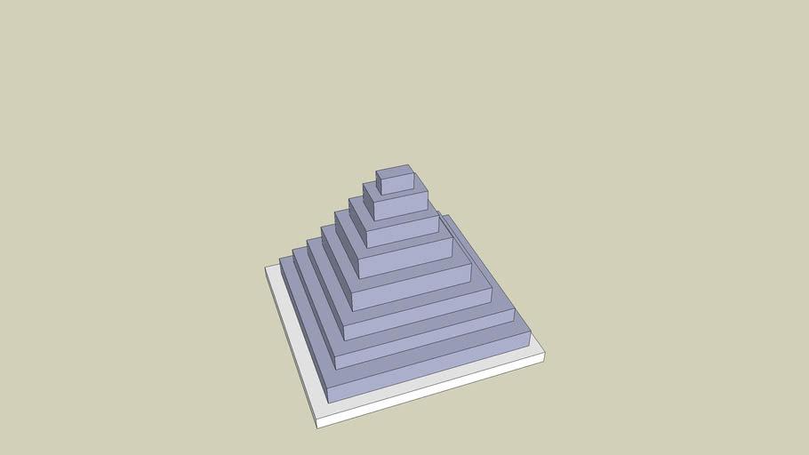 pyramid blocks (not much like a pyramid)