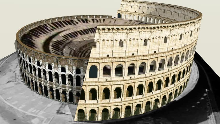 Colosseum, Rome (+3d-PDF, by 3dHH)