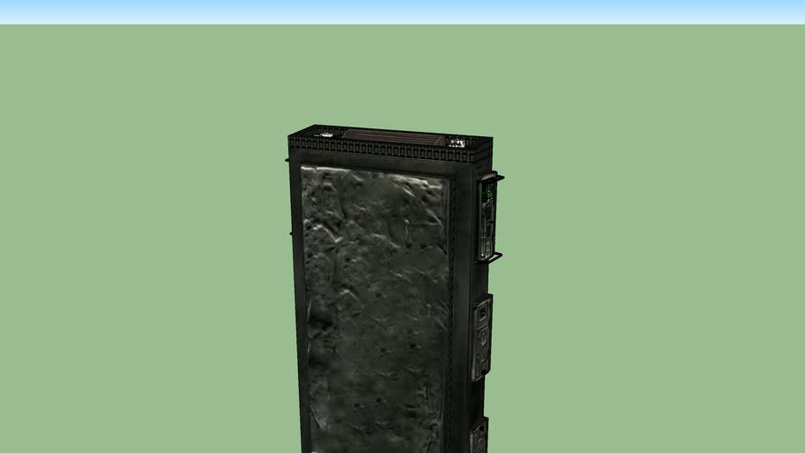 starwars carbonite block