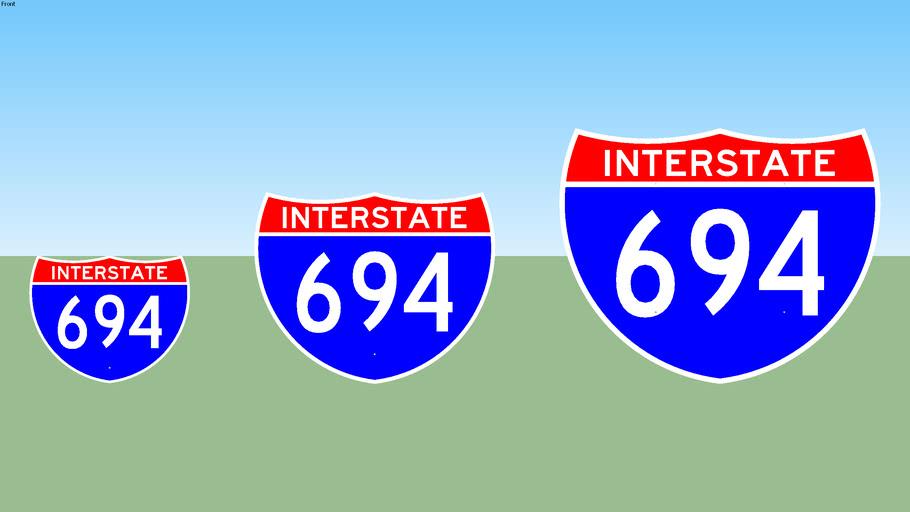 Interstate 694 Sign