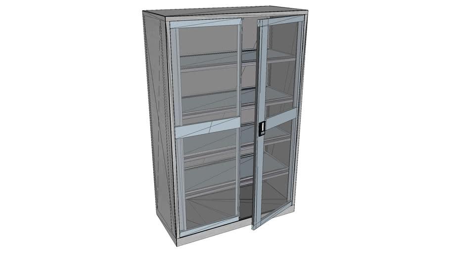 LISTA - cabinet with glass door