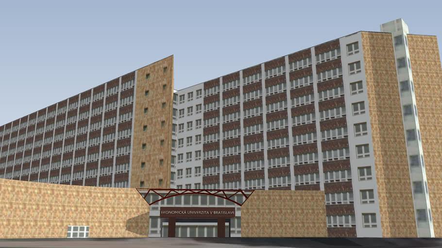Ekonomická univerzita v Bratislave - Budova V2