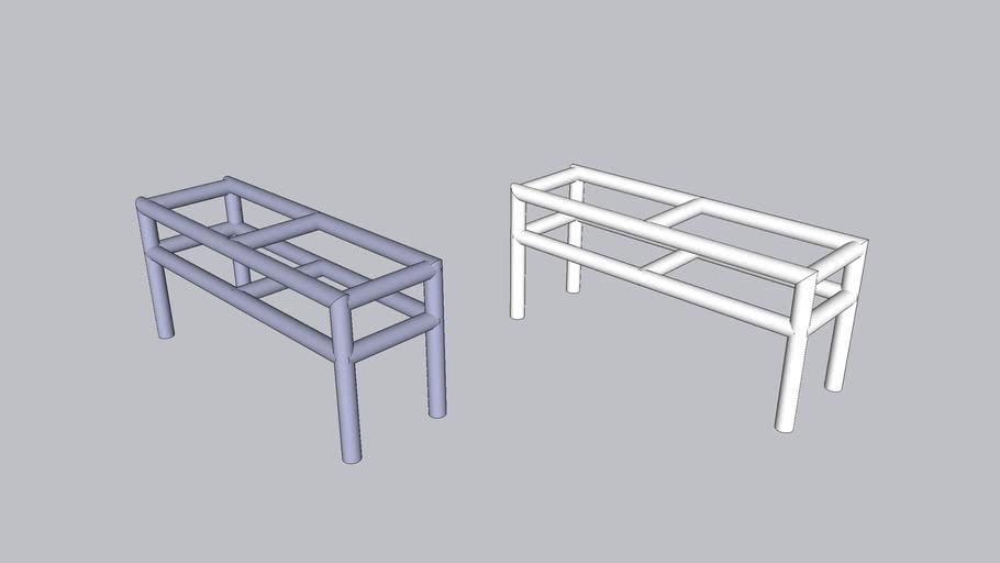 pvc work table 5cm 0.90 cm x 2m