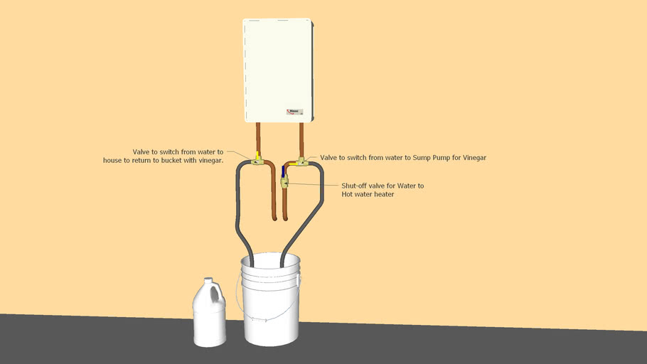 Tankless Hot Water Heater Cleaning