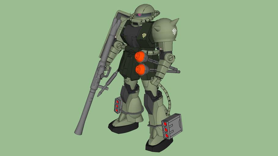MS-06 ZAKU II (New Ver.) / MS-06 ザクII (New Ver.)
