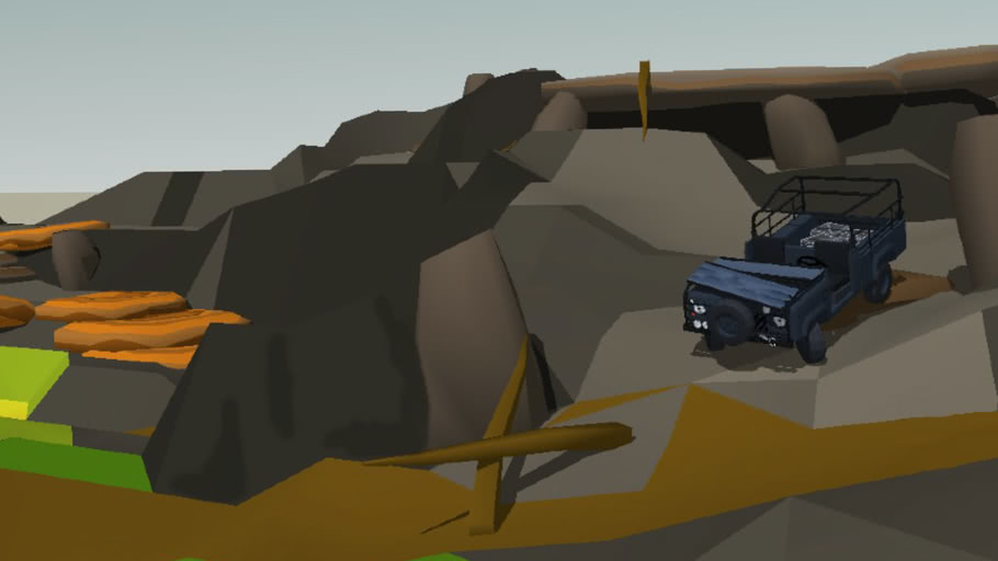 New Offroad Terrain for SketchyPhysics
