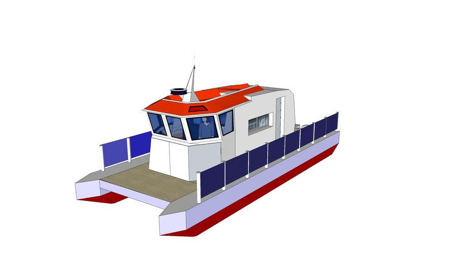 Johansen Pontoon boat
