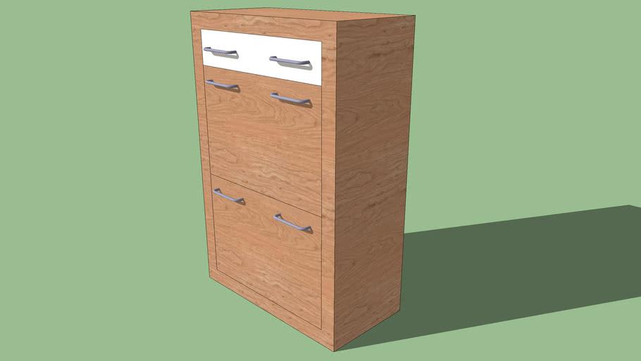 """""""LOOK"""" Shoe cabinet"""