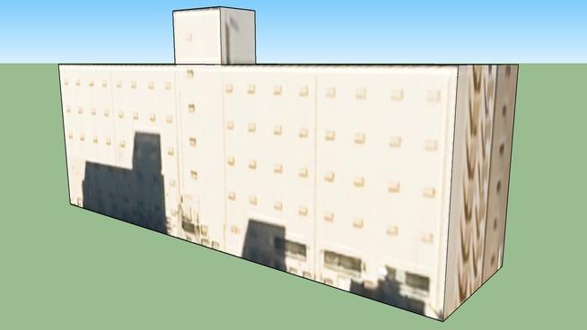 Gebäude in 〒111-8533