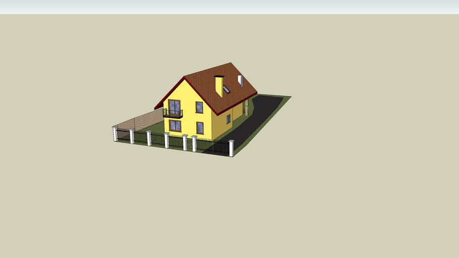 Projekt dom jednorodzinny