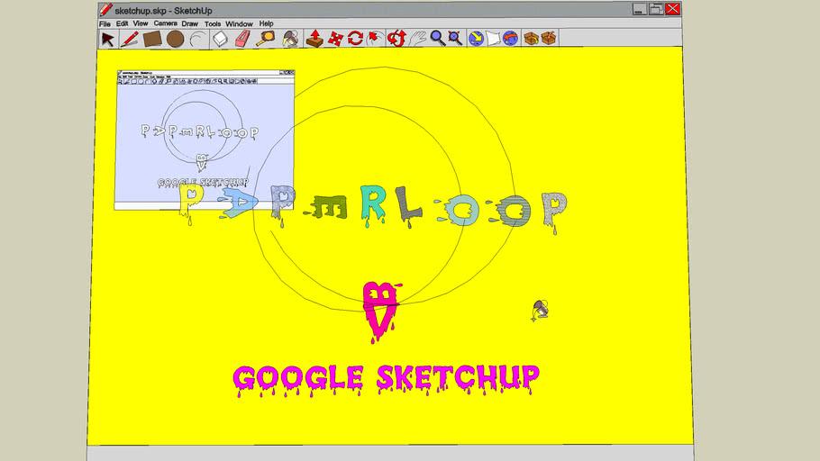MIMIC google sketchup inside google sketchup of google sketchup