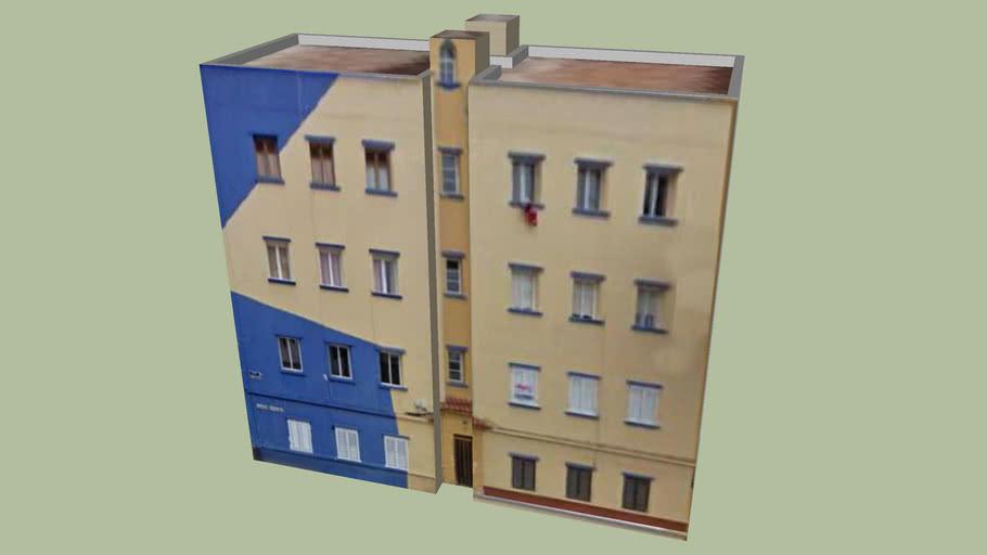 bloque azul amarillo escaleritas XV