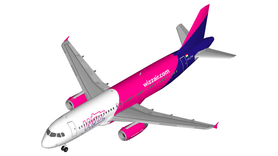 Wizz Air Airbus A320 Winglets