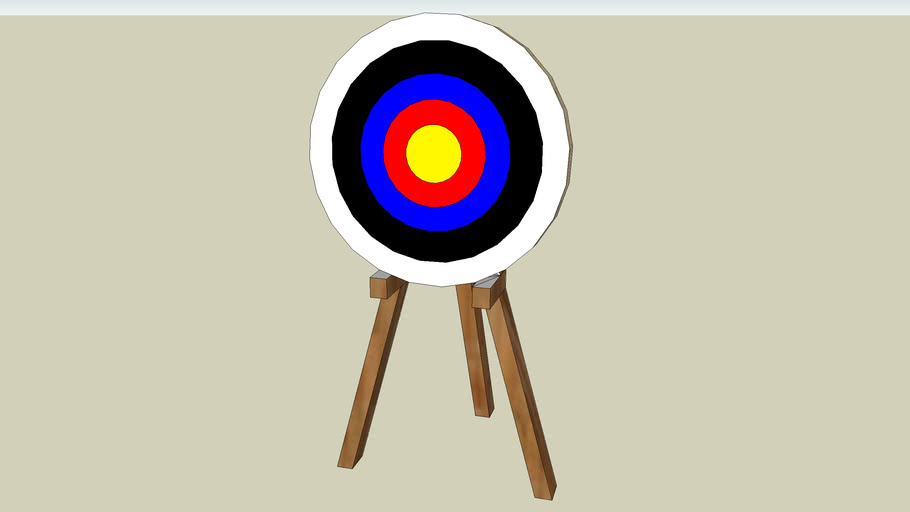 Archery Target 3d Warehouse Free 3d arrow models for download, files in 3ds, max, c4d, maya, blend, obj, fbx with low poly, animated, rigged, game, and vr options. archery target 3d warehouse