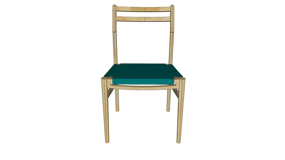 Nordic Dining Chair-No Arm