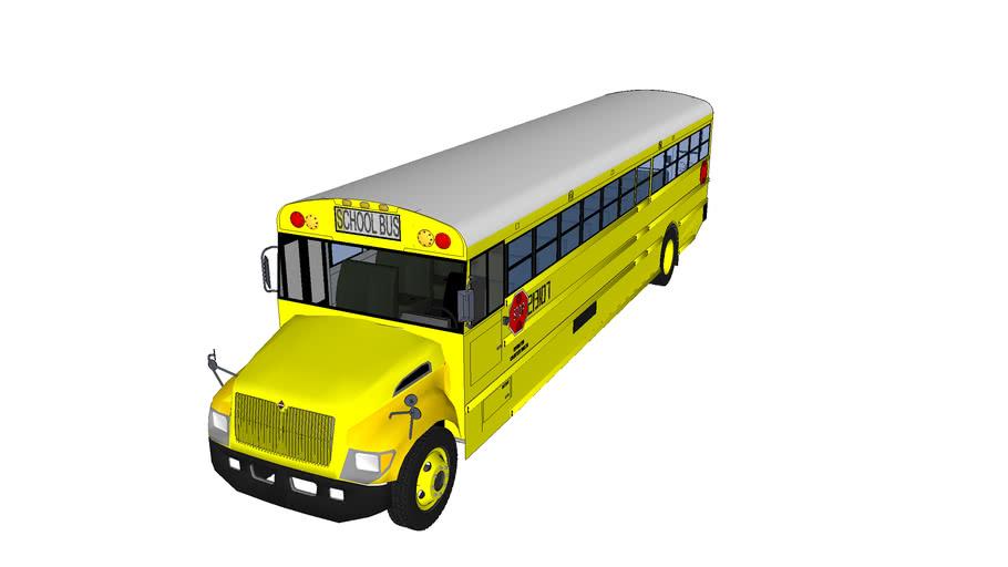 2013 IC CE 300 Shool bus # 213107