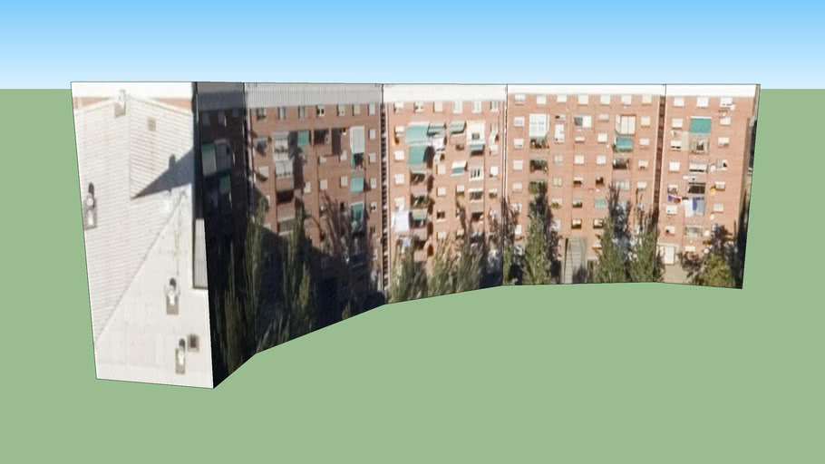 Avda Badajoz curva