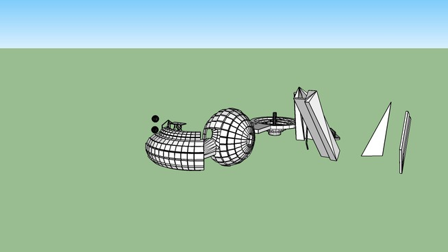 DM-ARCH1101_EXP3_JAMES_MAROUN_SKETCHUP-MODEL